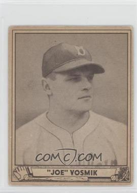 1940 Play Ball #144 - Joe Vosmik