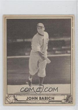 1940 Play Ball #191 - Johnny Babich