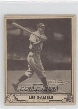 1940 Play Ball #208 - Lee Gamble