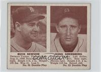 Buck Newsom, Hank Greenberg [Good to VG‑EX]