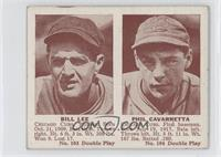 Bill Lee, Phil Cavarretta [Good to VG‑EX]