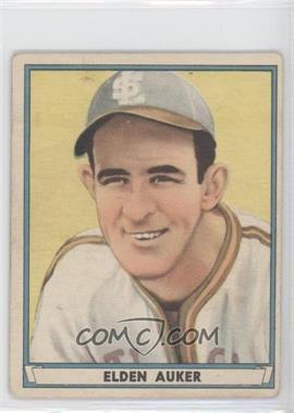 1941 Play Ball - [Base] #45 - Elden Auker [GoodtoVG‑EX]