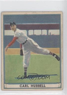 1941 Play Ball - [Base] #6 - Carl Hubbell [GoodtoVG‑EX]