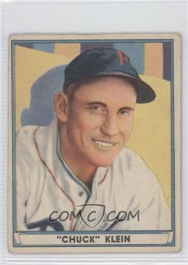 1941 Play Ball - [Base] #60 - Chuck Klein [GoodtoVG‑EX]