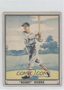 1941 Play Ball - [Base] #64 - Bobby Doerr [GoodtoVG‑EX]