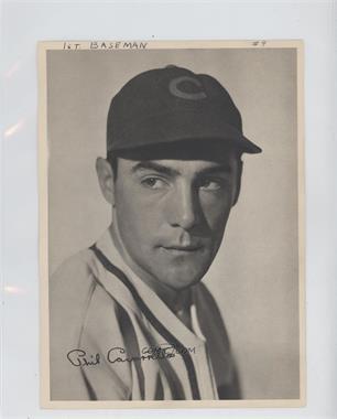 1943 Chicago Cubs Team Issue - [Base] #N/A - Phil Cavarretta