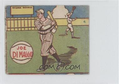 1943 M. P. & Co. Strip Cards R302-1 #N/A - Joe DiMaggio [Good to VG‑EX]