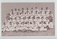 1948 Boston Braves Team