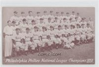 1950 Philadelphia Phillies Team