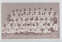 1948 Boston Braves Team