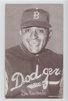Don Newcombe Portrait [Good to VG‑EX]