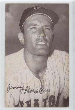1947-66 Exhibits W461 #N/A - Jim Piersall [Good to VG‑EX]