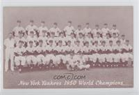 1950 New York Yankees Team