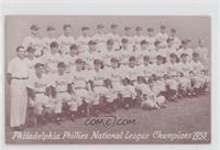 1950 Philadelphia Phillies Team