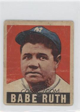 1948 Leaf - [Base] #3 - Babe Ruth