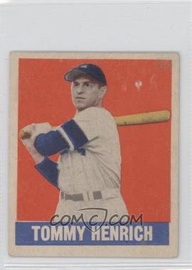 1948 Leaf - [Base] #55 - Tommy Henrich [Poor to Fair]
