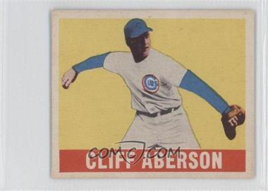 1948 Leaf #136 - Cliff Aberson