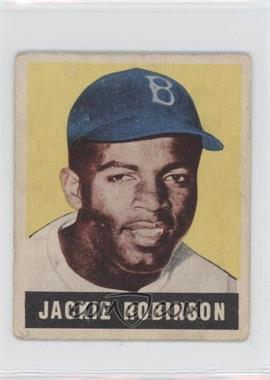 1948 Leaf #79 - Jackie Robinson [GoodtoVG‑EX]