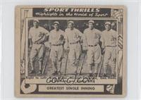 Bing Miller, Mickey Cochrane, George Haas, Al Simmons, Jimmie Foxx [Goodt…