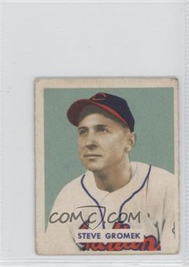 1949 Bowman - [Base] - Gray Backs #198 - Steve Gromek