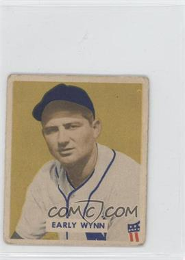 1949 Bowman Gray Backs #110 - Early Wynn