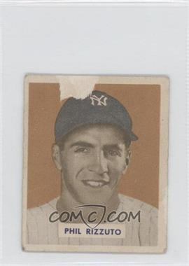 1949 Bowman Gray Backs #98.2 - Phil Rizzuto (Name on Front) [Poor to Fair]