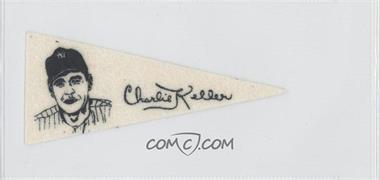 1950 American Nut & Chocolate Pennants F150 #N/A - Charlie Keller