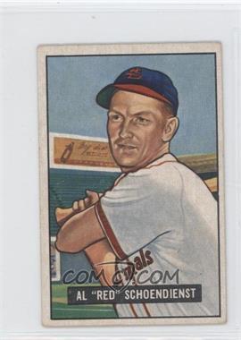 1951 Bowman - [Base] #10 - Red Schoendienst