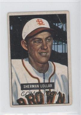 1951 Bowman - [Base] #100 - Sherm Lollar