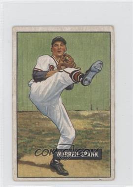 1951 Bowman - [Base] #134 - Warren Spahn [GoodtoVG‑EX]