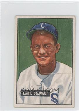 1951 Bowman - [Base] #159 - Eddie Stewart