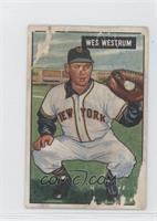 Wes Westrum [Poor]