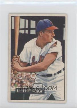 1951 Bowman - [Base] #187 - Al Rosen