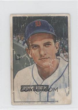 1951 Bowman - [Base] #249 - Johnny Groth [PoortoFair]