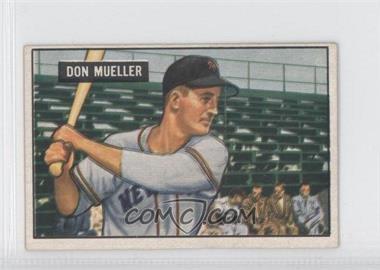 1951 Bowman - [Base] #268 - Don Mueller