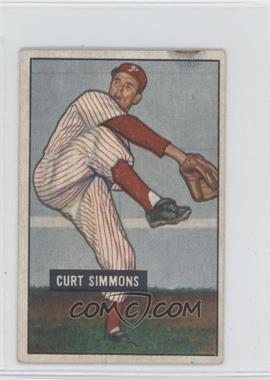1951 Bowman #111 - Curt Simmons