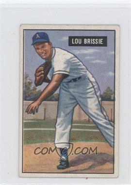 1951 Bowman #155 - Lou Brissie