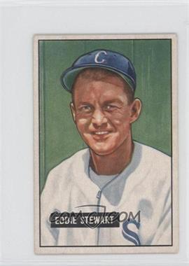 1951 Bowman #159 - Eddie Stewart