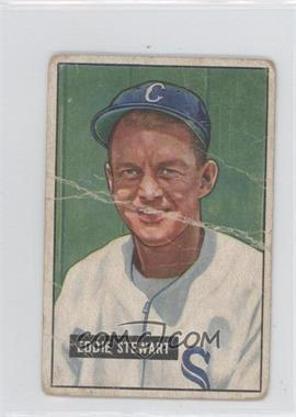 1951 Bowman #159 - Eddie Stewart [Poor to Fair]