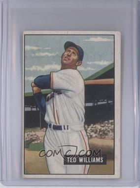 1951 Bowman #165 - Ted Williams [Good to VG‑EX]