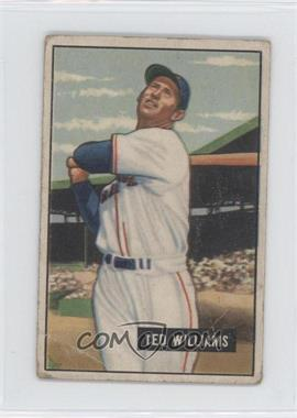 1951 Bowman #165 - Ted Williams