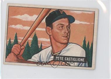 1951 Bowman #17 - Pete Castiglione