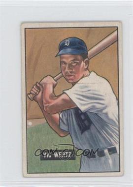 1951 Bowman #176 - Vic Wertz
