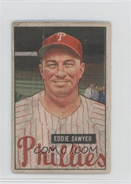 1951 Bowman #184 - Ed Sanicki [GoodtoVG‑EX]