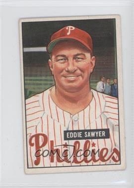 1951 Bowman #184 - Eddie Sawyer