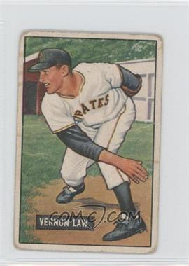 1951 Bowman #203 - Vern Law