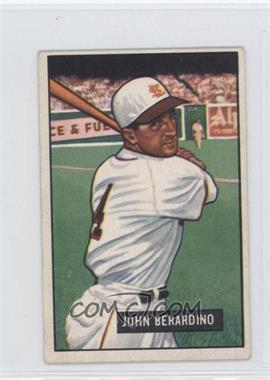 1951 Bowman #245 - John Berardino