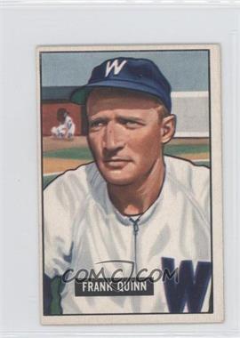 1951 Bowman #276 - Frank Quinn