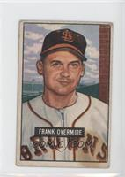 Frank Overmire [Good to VG‑EX]