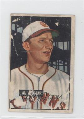 1951 Bowman #281 - Al Widmar [Poor to Fair]